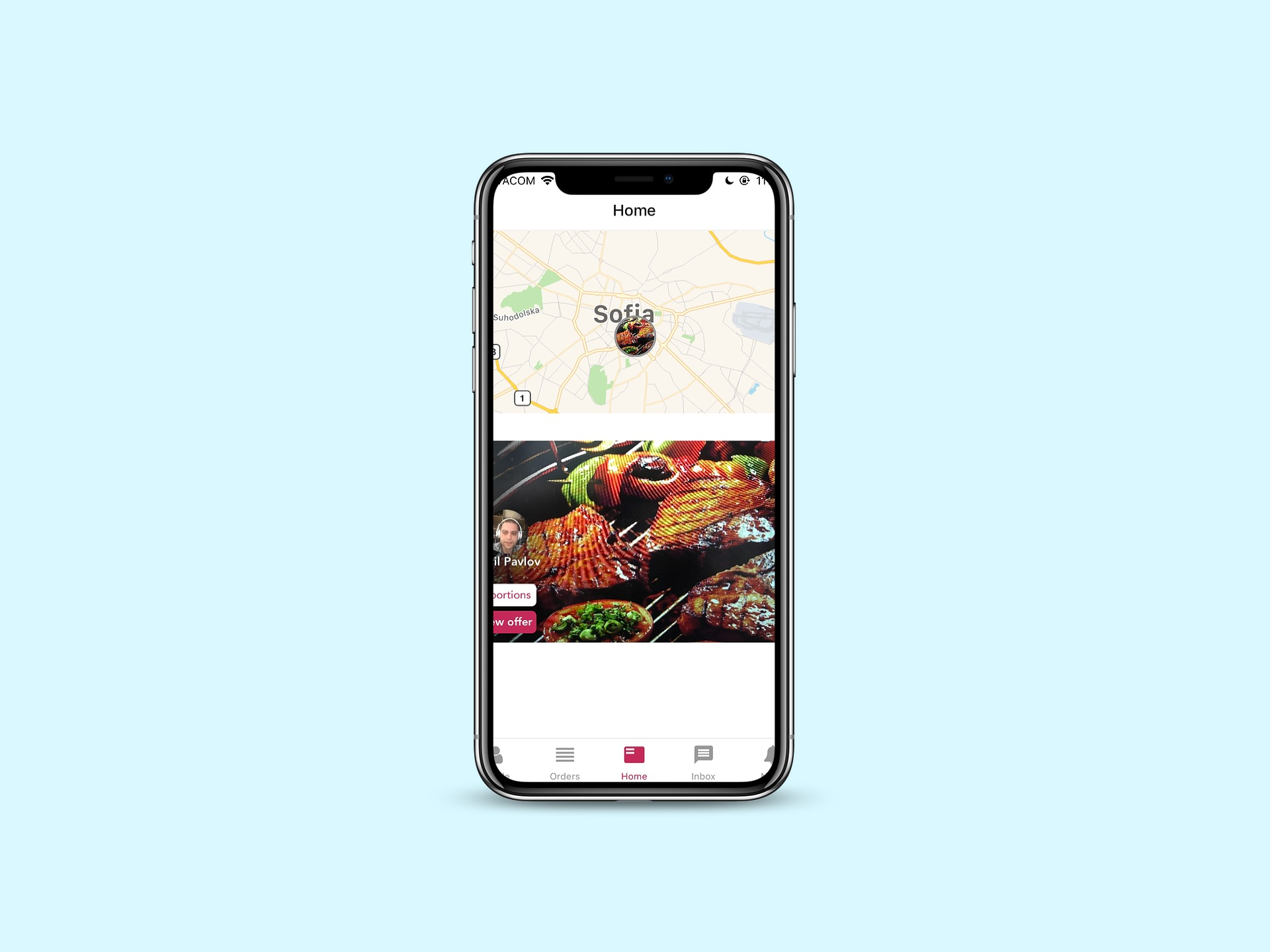 Eattown Mobile Application